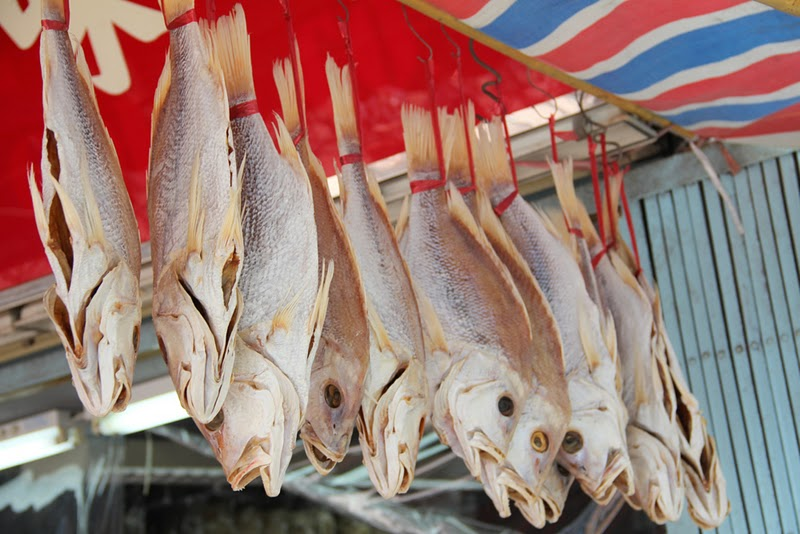 Chinese-style salted fish